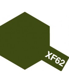 PINTURA ACRILICA XF-62, VERDE OLIVA APAGADO