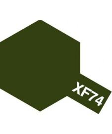 PINTURA ACRILICA XF-74, OLIVA APAGADO (JGSDF)