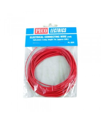 CABLE ROJO 7 M.